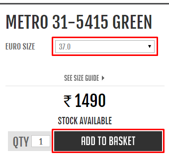Metroshoes coupon code
