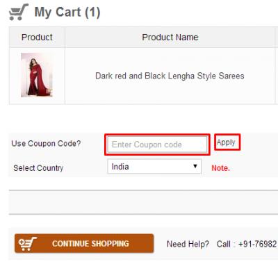Pavitraa coupon code